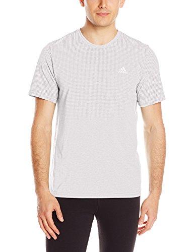 adidas Mens Aeroknit T-Shirt Grau