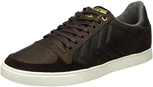 Hummel Unisex-Erwachsene Slimmer Stadil Mono Oiled Low Top Braun (Coffee Bean)
