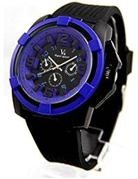 V6 Montre Homme MONTRE11 - Reloj , correa de silicona color negro