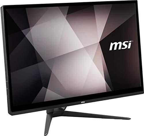 MSI PRO 22XT 9M-028XEU AIO 54,6 cm (21,5 Zoll IPS-Level) All-in-One Desktop-PC (Intel Pentium Gold G5420, 8GB DDR4, 256GB SSD,  Multitouch Touchscreen, 1920x1080 Full-HD) schwarz