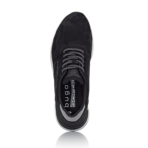 bugatti Herren 341305047500 Sneaker Schwarz (Schwarz)