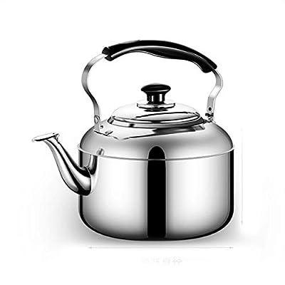 Bouilloire 304 acier inoxydable bouilloire théière ménage gaz/cuisinière à induction/sécurité grande capacité 4L / 5L / 6L / 7L / 8L fournitures de cuisine meilleur cadeau bouilloire en acier inox
