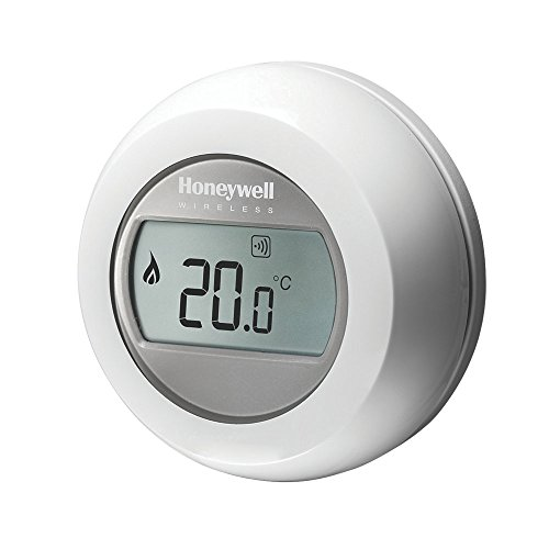 Honeywell Y87RF2024 Single Zone Mobile Compatible Thermostat, 230 V, White/Grey