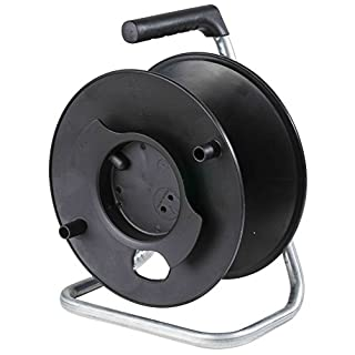 as – Schwabe 12121 285 mm Diameter Empty Storage Reel - Black
