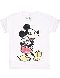 Disney Girl's Vintage Mickey T-Shirt