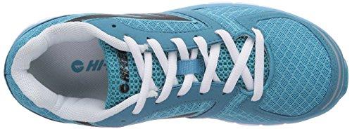 Hi-Tec Haraka W' Damen Laufschuhe Blau (Bahama Blue/Black/White 032)