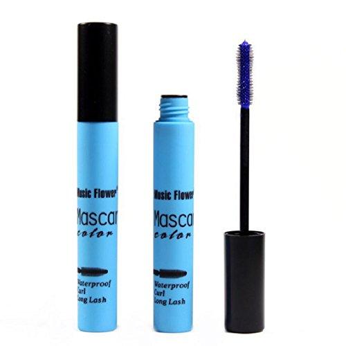Culater® Imperméable à l'eau de Maquillage des Cils à Long Curling Cils de Mascara Prolongation Blue
