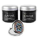 Anti Aging Tag & Nachtcreme CAVIAR BIO-VITAL Pflegeset intensive Anti-Falten Creme mit Kaviar, das...
