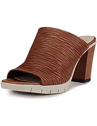 Amazon.fr   talon - 8 - 11 cm   Mules et sabots   Chaussures femme ... bb668669f807