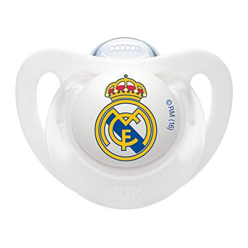 NUK Genius, Chupete Real Madrid Bebé Recién Nacido