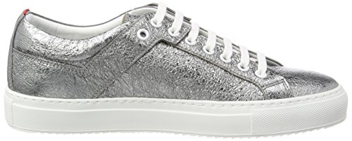 HUGO Damen Camden Low Cut-l Sneaker Grau (Open Miscellaneous)