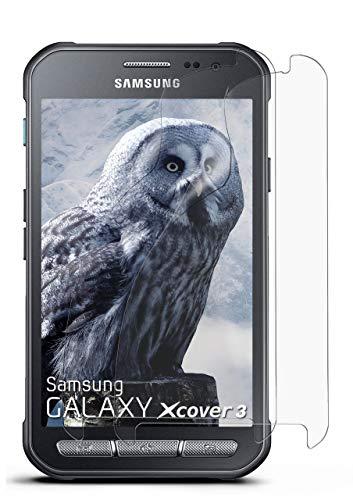 2X Samsung Galaxy Xcover 3 | Schutzfolie Matt Bildschirm Schutz [Anti-Reflex] Screen Protector Fingerprint Handy-Folie Matte Bildschirmschutz-Folie für Samsung Galaxy Xcover 3 Bildschirmfolie
