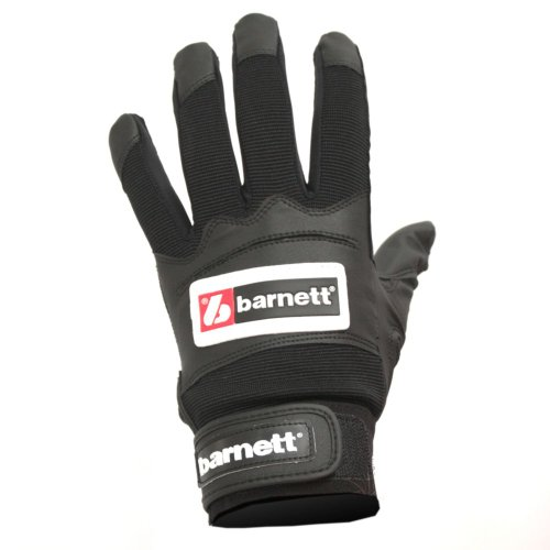 BBG-01 Baseball Schlagmann Batting Handschuhe - schwarz