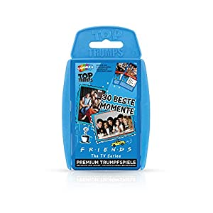 Winning Moves 63278 Monica Top Trumps-Friends: Das Kartenspiel zur Kultserie, Trumpfspiel