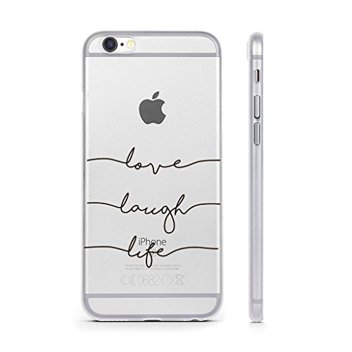 """Coque iPhone 6 / 6S , IJIA Ultra-mince Transparent Blanc Belle Ewha TPU Doux Silicone Bumper Case Cover Shell Housse Etui pour Apple iPhone 6 / 6S 4.7"""" WM92"""