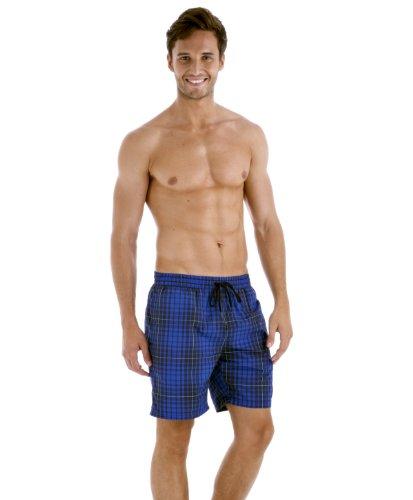 Speedo maillot de bain pour homme chk leis 18 wsht am Bleu - Bleu/bleu marine
