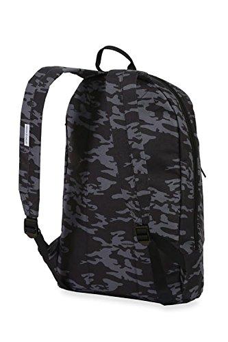 Best swiss gear bags in India 2020 Swiss Gear 20 Ltrs Grey Camo/Black Laptop Backpack (2728440417) Image 3