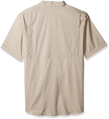 Columbia Mens Silver Ridge Lite Big & Tall Short Sleeve Shirt Fossil