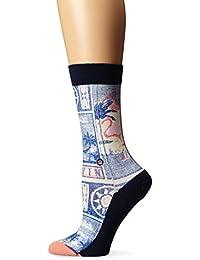Stance Postcard Womens Socks Navy