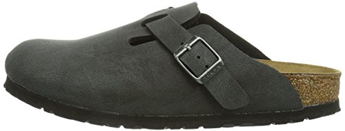 Birkenstock Arizona, Unisex – Adults Sandals, Black (Brushed Black), 8 UK Narrow (42 EU)