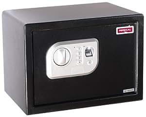 reskal fa62530 coffre fort empreintes digitales noir fournitures de bureau. Black Bedroom Furniture Sets. Home Design Ideas