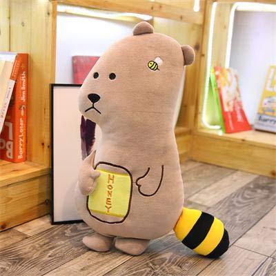 Stofftier Puppe Kawaii Kuh Teddy Bär Monster Appease Kinder Schlafkissen Geschenk für Kinder - Igel Panda Pinguin Hund Bulldog Känguru Welpe Jellycat Lamm 55-65cm bär ()