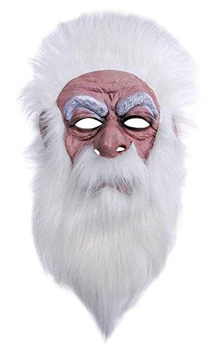 Ideen Sevens Kostüm (Bristol Novelty bm456Wizard Maske (One)
