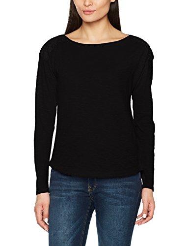 s.Oliver T-Shirt Manches Longues Femme Noir (9999)