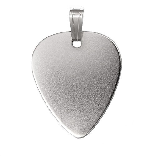 Anhänger Silber Plektrum Guitarre
