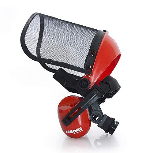 AOSOME Casco de seguridad /cascos de seguridad para desbrozadora, motosierra