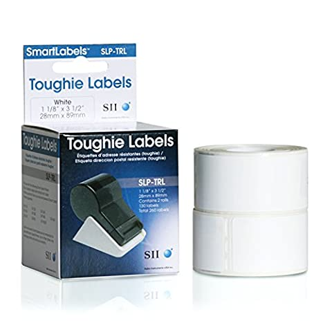 Seiko - Labels - Roll (28mmx 89mm) - 2 rolls Total 260 labels