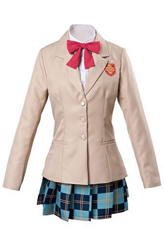 Karnestore A Certain Magical Index / Scientific Railgun Misaka Mikoto Middle School Uniform Cosplay Kostüm Damen XXL
