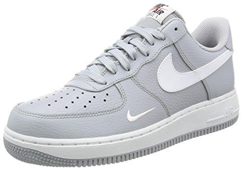 Nike Air Force 1, Zapatillas de Gimnasia para Hombre, Gris (Wolf Grey/White/White), 44.5 EU