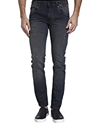 Jack & Jones Mens Casual Jean (_5713446429018_Black_36W x 34L_)