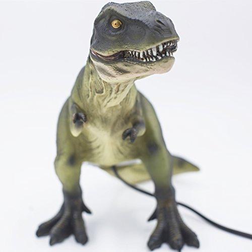 Amaz Lab Dinosaurus Night Light LED Table Lamp/Bedside Light-Vintage Retro Style, Warm White Glow USB and Battery Powered Lantern, 4Hours Timer...