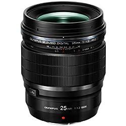 Olympus ES-M2512 Pro Black Optique 25 mm Noir