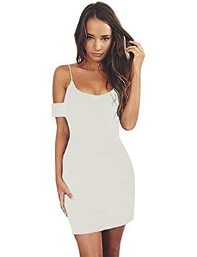 Kaiki Mini vestido para mujer Sexy Solid Slim Bodycon Dress Ladies Party Evening