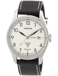 Junkers Herren-Armbanduhr XL Spitzbergen F13 Analog Automatik Leder 61645