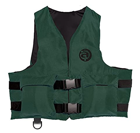AIRHEAD Youth Sport Vest with Pockets, Hunter Green