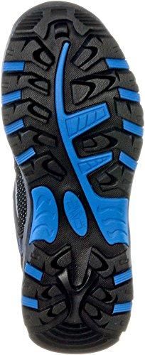 CMP Kids Rigel Low, Chaussures de trekking mixte enfant gris/bleu
