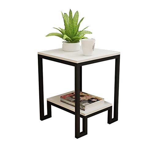 XIAOLVSHANGHANG CJ Wohnzimmer Sofa Tisch, Schlafzimmer Seite Kleiner Couchtisch Nachttisch Side Cabinet multifunktionale Schrank (Farbe : Weiß, größe : #1) | Schlafzimmer > Nachttische | XIAOLVSHANGHANG