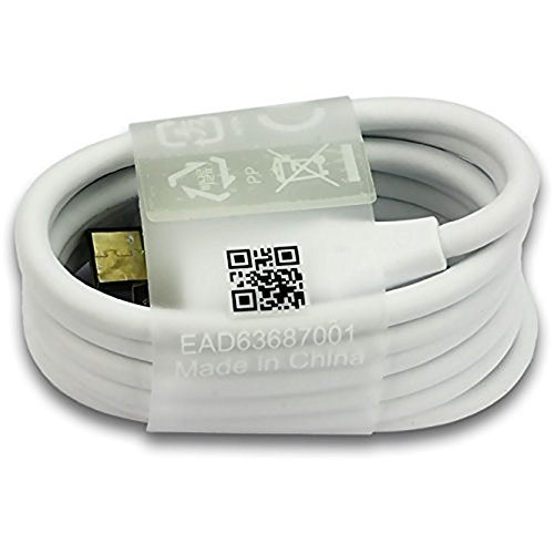 Original weißes LG Typ C USB-Datenkabel für LG G5 / LG G6 / LG Nexus 5X / LG Nexus 6(keine Einzelhandelsverpackung)