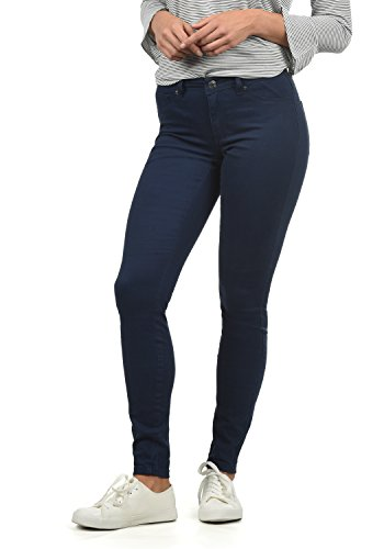 ONLY Lara Super Stretch Damen Jeans Denim Hose Röhrenjeans Aus Stretch-Material Skinny Fit, Farbe:Sky Captain, Größe:XL/ L30