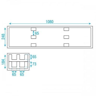 Showtec - Budget LED Bar Flightcase