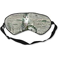 Schlafmaske, Tierkatzen, Schlafmaske, Baumwolle, weich, kühlend preisvergleich bei billige-tabletten.eu