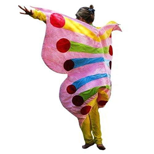 PUS Schmetterling-e Kostüm-e Su34a Gr. M-L, Kat. 3, Achtung: B-Ware Artikel. Bitte Artikelmerkmale lesen! Erwachsene Frau-en Männer Tier-e Raupe-n Fasching-s Karneval-s Geburtstag-s (Schmetterling Kostüm Männer)