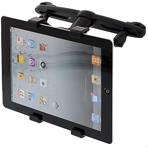 'Universal Tablet soporte de coche reposacabezas (360° giratorio) para Galaxy Note 10.1/7234N8010Samsung Galaxy Tab P7510Tab2P5110iPad2iPad3iPad4Mini iPad Pro 9,7IPAD