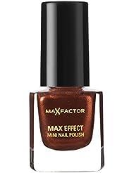 Max Factor Max Effect Mini Nail Polish 03 Red Bronze, 1er Pack (1 x 5 ml)