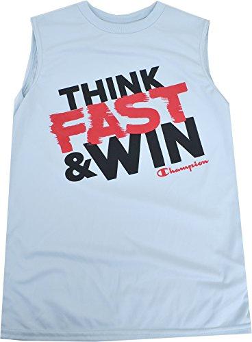 Jungen Jugend T-Shirt Muskel Tank Silverstone Medium (Muskel-shirt Champion)