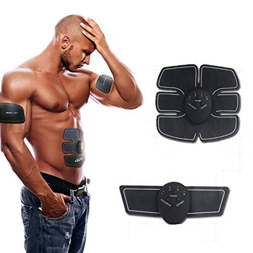 Estimulador Muscular, Cinturón Abdominal para Abdominales, Entrenador